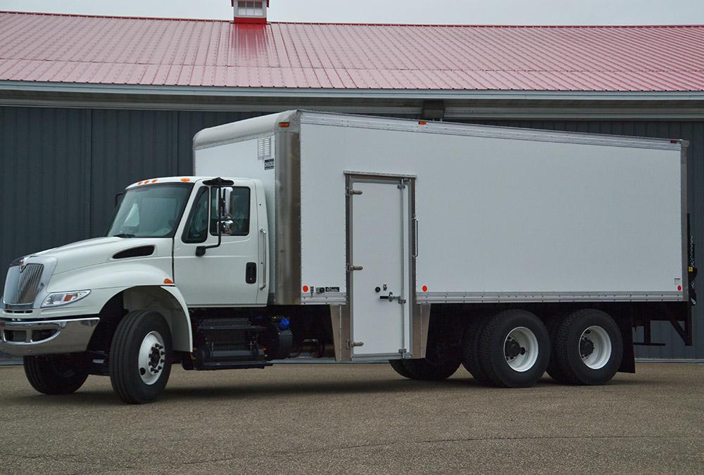 Aluminum Van Bodies Ohnsorg Truck Bodies